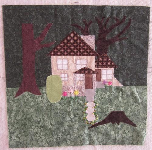 Gram's house block for Fiona