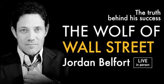 Jordan Belfort Live