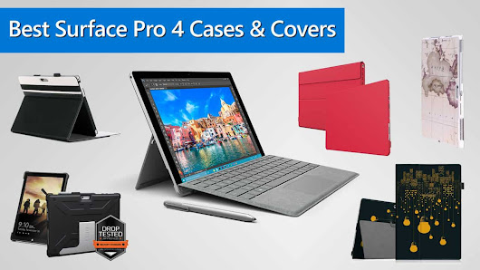 Best Microsoft Surface Pro 4 Case and Cover Reviews