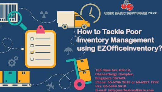 How To Tackle Poor Inventory Management Using EZOfficeinventory?