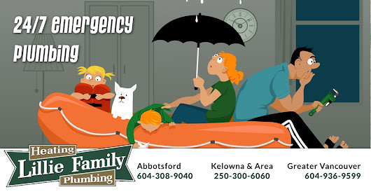 Emergency Plumber 24h | Lillie Family Heating & Plumbing