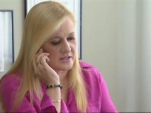 Ana Karin Prefeita Cruzeiro (Foto: Reprodução/TV Vanguarda)