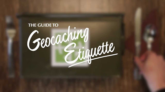 Geocaching Etiquette - YouTube