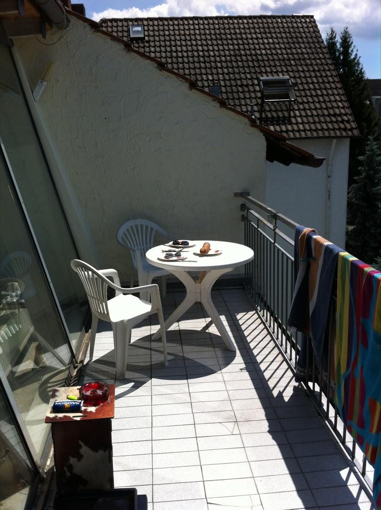 Mittagessen in der Sonne!