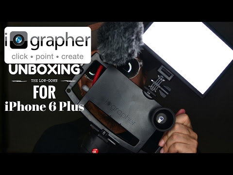 iOgrapher iPhone 6s Plus - Unboxing and First Look