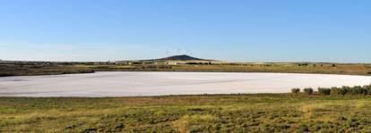 Spagna: i «sassi ambulanti» della laguna Altillo Chica