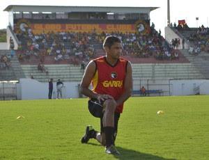 Robson - zagueiro do Globo FC (Foto: Jocaff Souza/GloboEsporte.com)