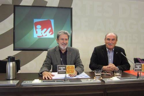 Adolfo Barrena y Félix Rubio