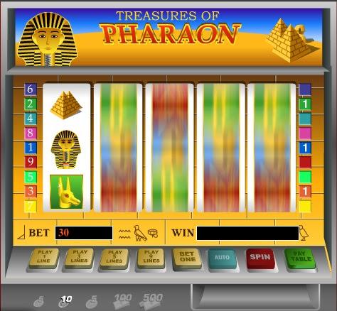 Фараон игровые автоматы онлайн играть