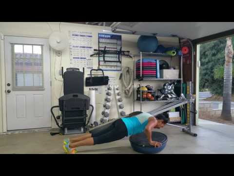 Total Gym/BOSU Ball Workout - Total Gym Pulse