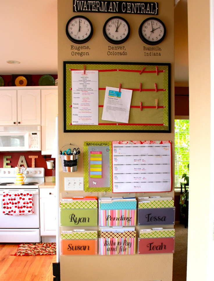 Achieving Creative Order: Kitchen Command Center