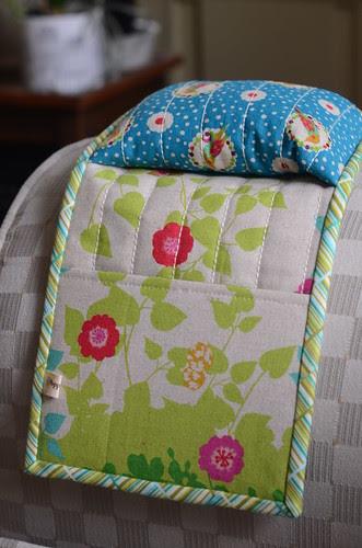 Armrest Pincushion Caddy by Poppyprint