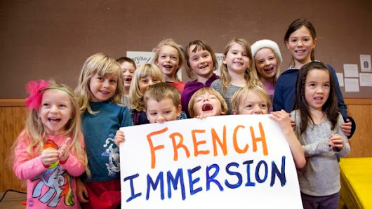 Students French Immersion Program!