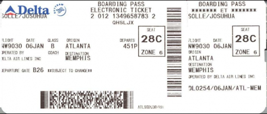 What's in a Boarding Pass Barcode? A Lot —  Krebs on Security