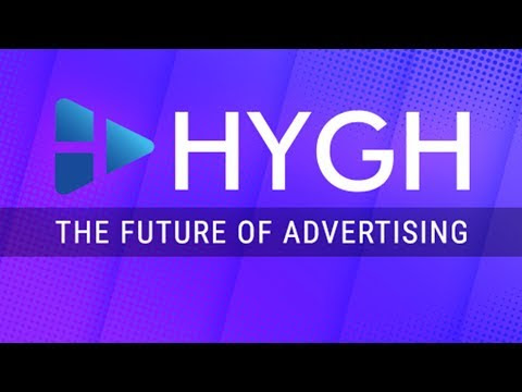 Business card design for HYGH Outdoor Advertising Platform