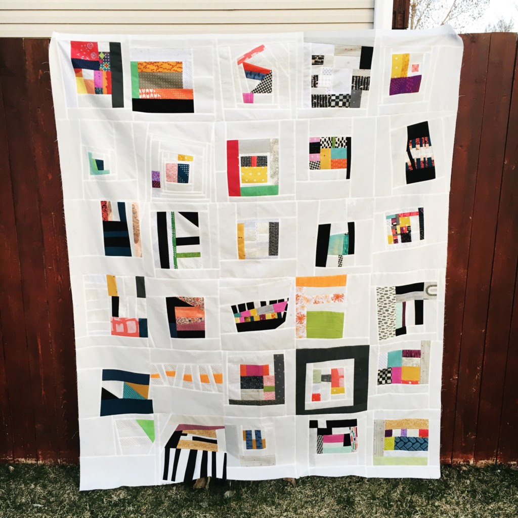Quilt and photo credit - Amy Ellis (photo included with permission)