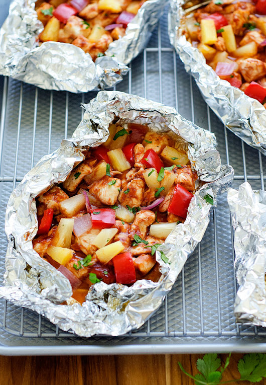 BBQ Chicken Foil Packs - Life In The Lofthouse