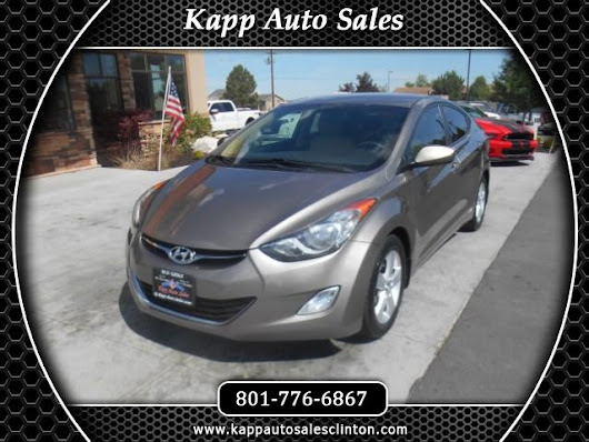 Used 2013 Hyundai Elantra GLS for Sale in Clinton UT 84015 Kapp Auto Sales