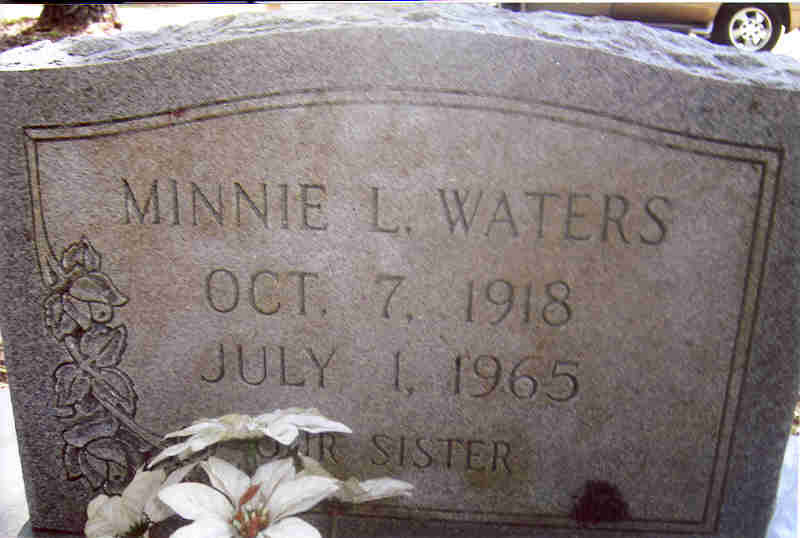 ChazzCreations - Waters Family History My family comes out of the John Calvin Waters Sr