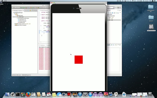Develop a JavaFX + iOS app with RoboVM + e(fx)clipse tools in 10 minutes