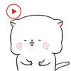 KIM KON KET - Kitty Stickers Animated artwork