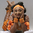 PHOTOS: Ini Edo Looks Stuns In Traditional Dancing Attire