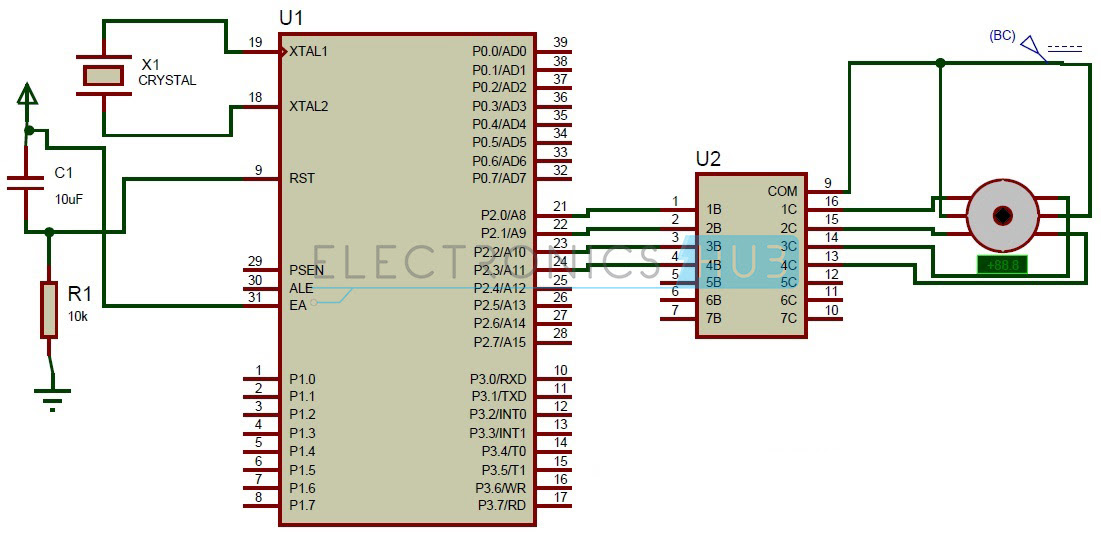 My World My Rules: Stepper Motor Control using 8051 Microcontroller