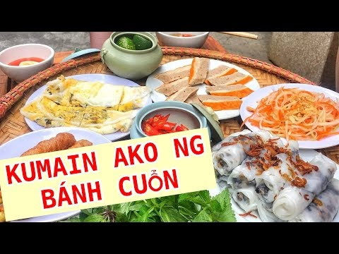 How Street Food Vendors Make Banh Cuon (Vietnamese Steamed Rice Rolls) | Jb Manalili