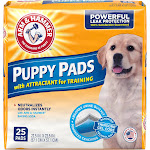 Arm & Hammer Smart Spot Ultra Absorbent Training Pads for Puppies