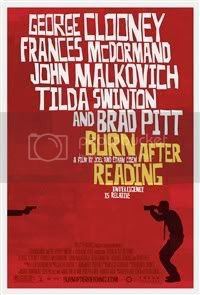 Burn After Reading Official Poster