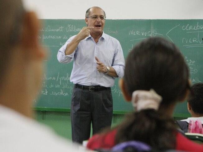 Resultado de imagem para alckmin aula welbi