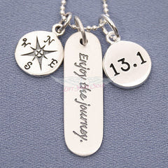 13.1 Enjoy The Journey Charm Trio Necklace