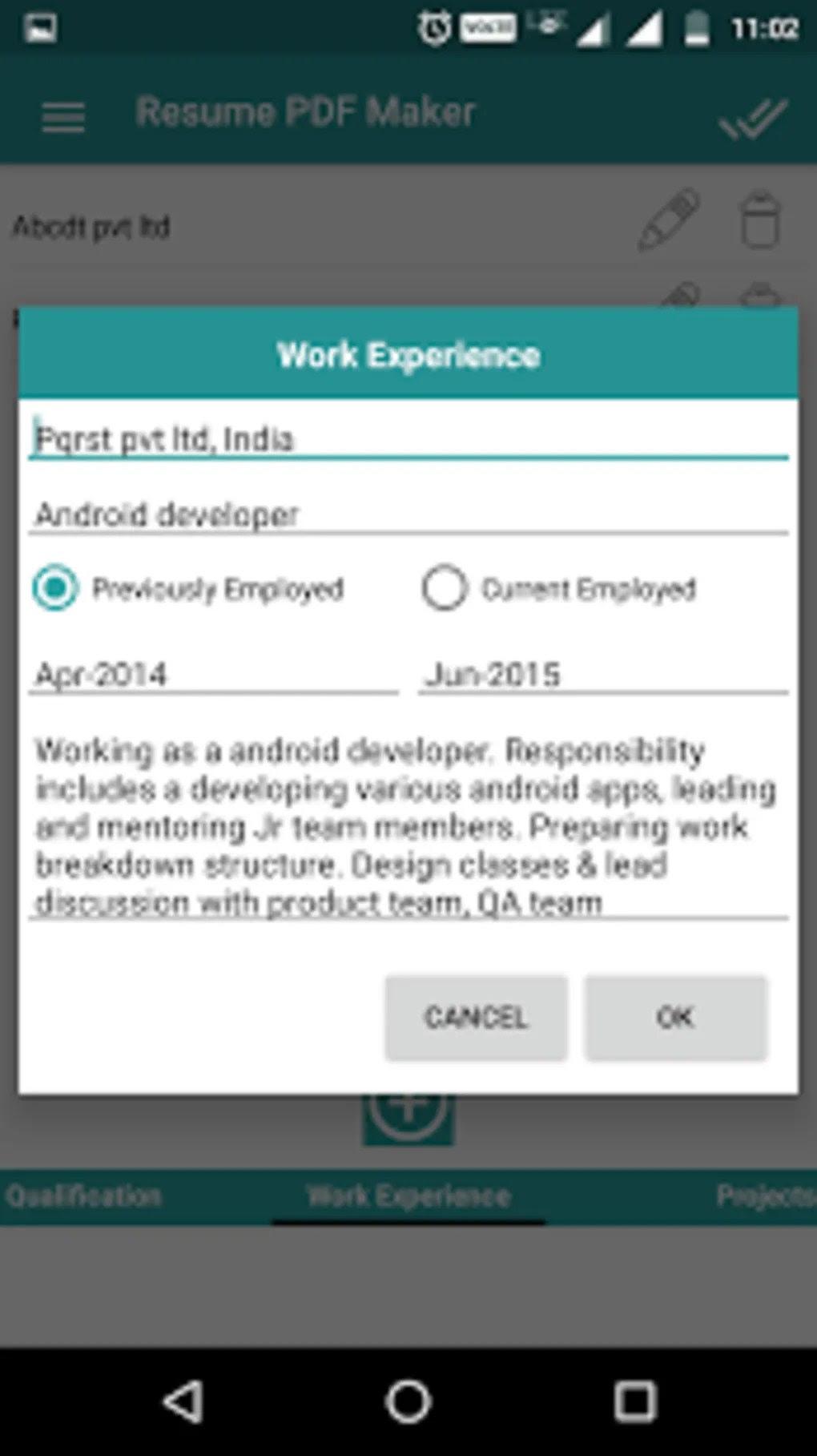 Cv Maker App For Android