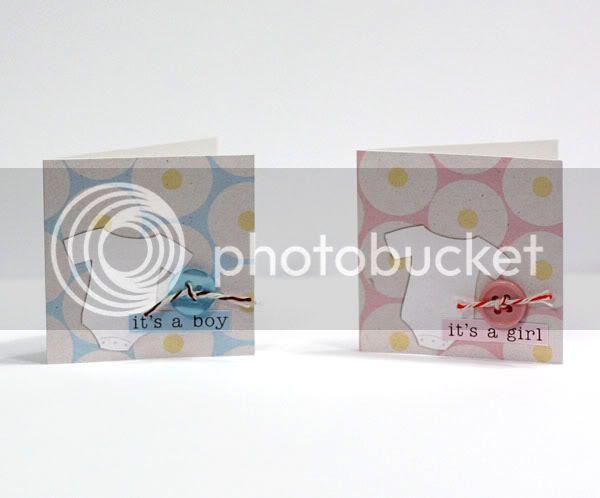 It's a Boy / Girl cards
