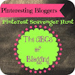 A Bloggy Pinterest Scavenger Hunt