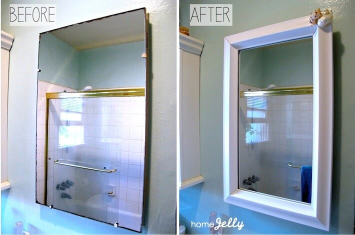 5 Diy Tips To A Bathroom Mini Makeover Homejelly