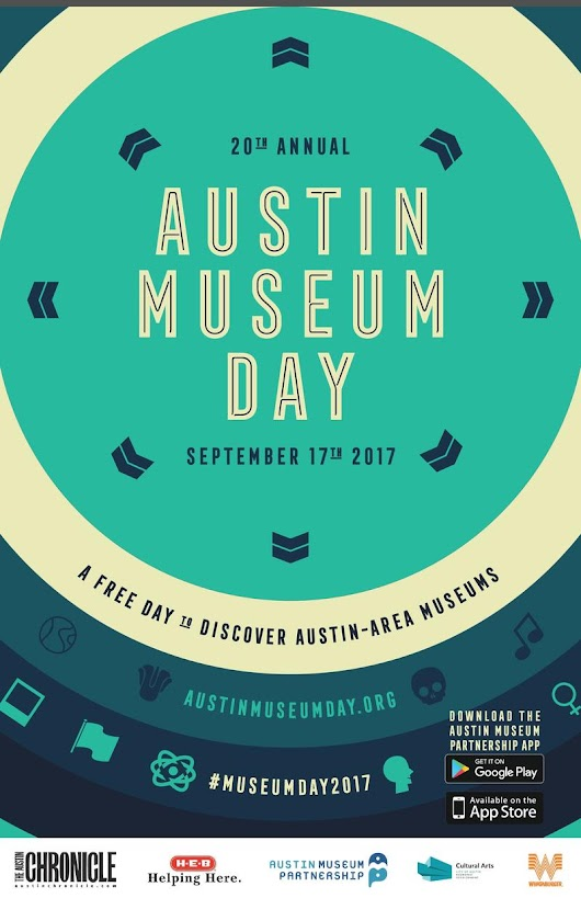 This Sunday Is Austin Museum Day