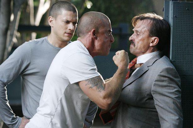 'Prison Break', (from left): Wentworth Miller, Dominic Purcell, Robert Knepper
