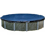 Swimline Round Above Ground Winter Pool Cover, Blue