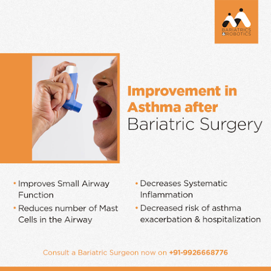 Improvement in Asthma after Bariatric Surgery