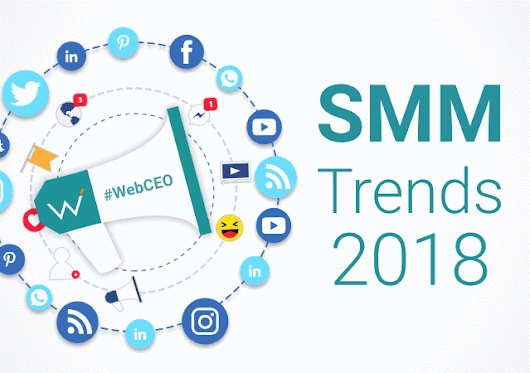 12 Hottest Social Media Marketing Trends in 2018