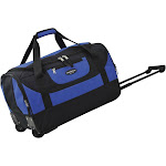 """Adventure 20"""" 2 Wheeled Carry-On Duffel Travelers Club Color: Blue"""