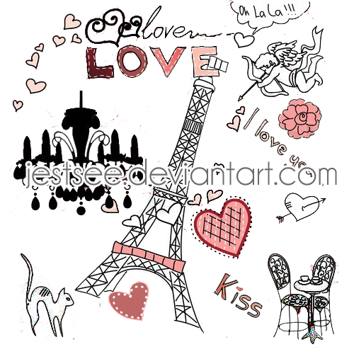 Png Pack Cute Paris by jestsee