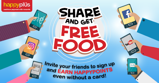 Share and get FREE FOOD!