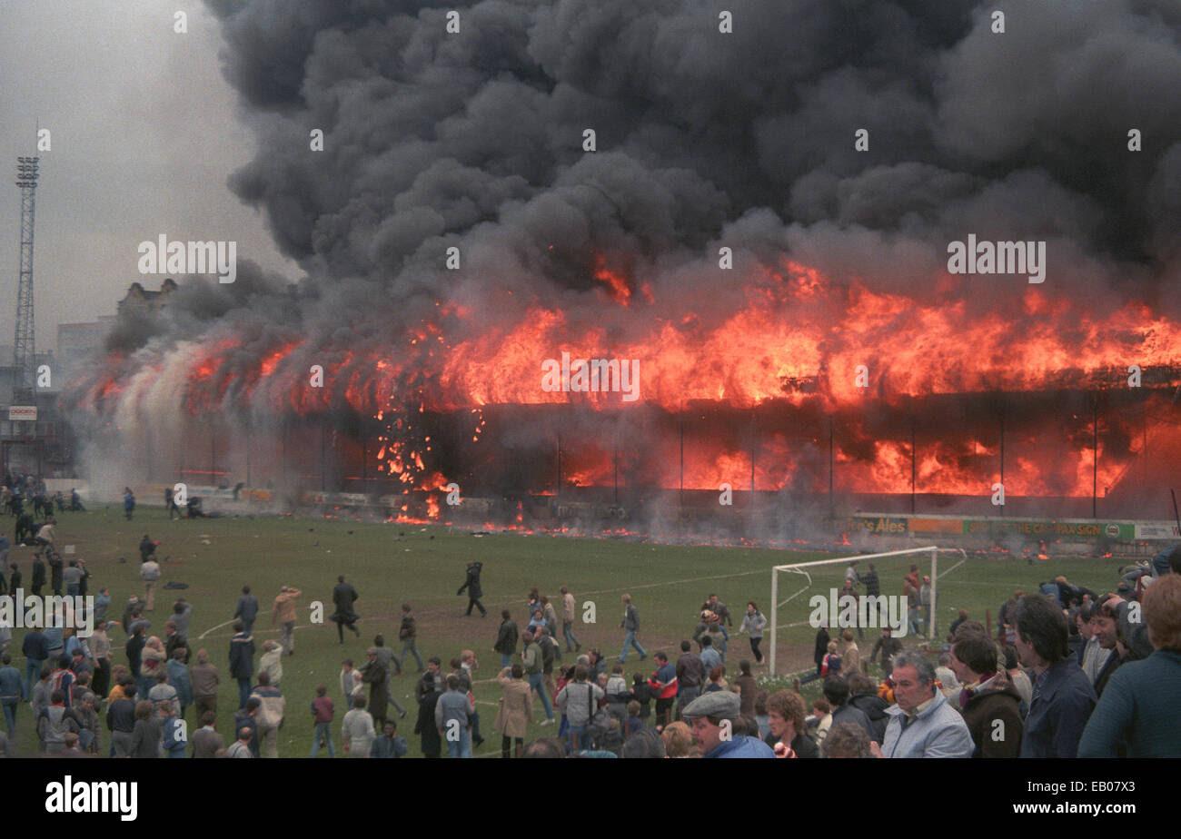 Bradford City Football Club Stadium disaster of 11th May ...