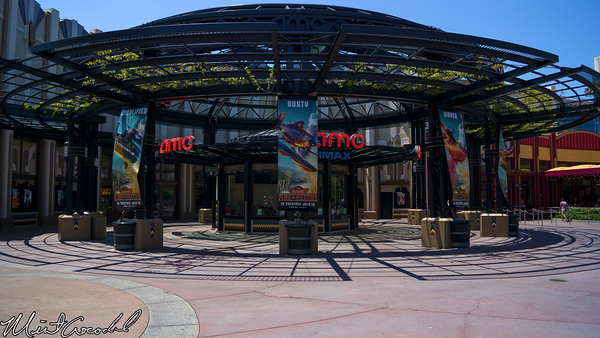 Disneyland Resort, Downtown Disney, AMC, Theater, Planes 2, Advertisement, Ad
