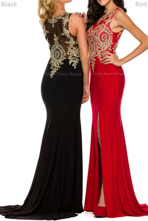 stretchy prom dance evening gown formal red carpet gala