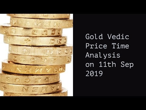 Gold Vedic Price Date Analysis 11th Sep 2019, Gold Forecast, Gold Techni...