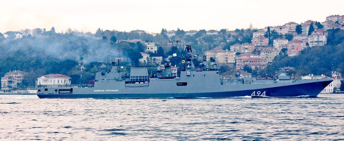 """ΕΚΤΑΚΤΟ: Τα φονικά πυρηνοκίνητα υποβρύχια μαζί με την υπερ-φρεγάτα «Admiral Grigorovich» και πυραύλους SS-N-27 """"Sizzler"""" στέλνει απέναντι από τον 6ο Στόλο στη Μεσόγειο ο Β.Πούτιν! - Εικόνα1"""