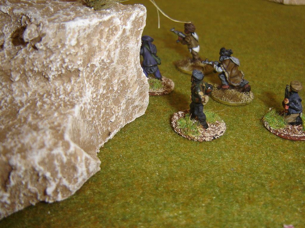 Taliban flank advance